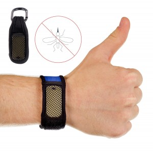 Outdoor Star MosquitoAway Mosquito Repellent Bracelet and Bonus Clip! 2x FREE Repellent Refills - [No Spray, DE