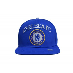 Rhinox Chelsea Fc Snapback Adjustable Cap Hat - White - Blue New Season