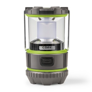 CORE Equipment CORE 500 Lumen CREE LED Battery Lantern, 3 D batteries, Great for Camping and Emergencies