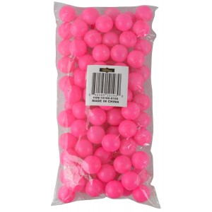 "Fairly Odd Novelties 3/4"" Mini Ping Pong/Table Tennis/Beer Pong Round Balls (100 Pack), 19mm, Pink"