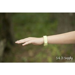 Green Oak ALL NATURAL Mosquito Repellent Bracelet, HIGHEST QUALITY on the market, Pack of 5