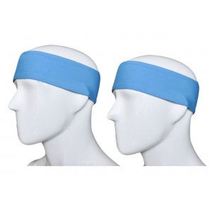 GoYonder Dri Fit Sports Headband (Set of 2 Colors)