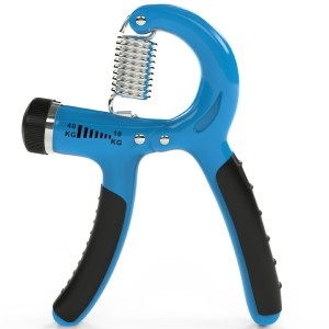 ThunderFit Grip Strengthener - Adjustable Hand Exerciser - Resistance Range 22 to 88 Lbs