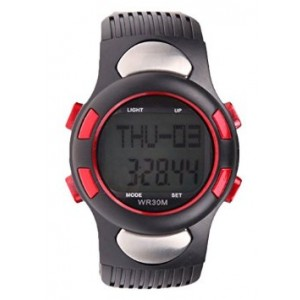 G & E Health and Beauty Care Best Heart Rate Monitor Watch for Men and Women with Pulse Rate Pedometer Great for Running Joggin