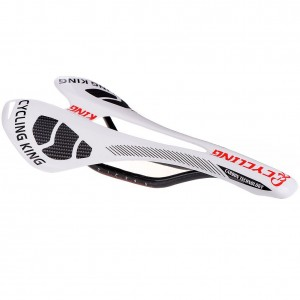 Codream Carbon Fiber 3K Glossy Light Weight Anatomic Relief MTB Mountain Bike Road Bicycle Saddle Seat