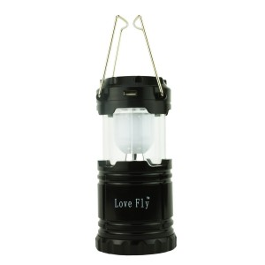 Love Fly Ultra Bright Rechargeable Lantern, LED Solar Camping Lanterns Lights, Collapsible Camping Lantern,