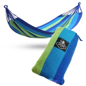 Archer Outdoor Gear Brazilian Hammock - Double - Woven with Quality Cotton Fabric for Superior Comfort