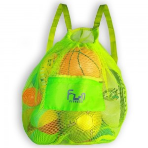 FunFitness #1 Premium Mesh Swim Bag ? Most Durable and Secure Tote ? Transparent, See Through Drawstring Back