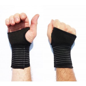 Kasp Exercise Gloves with Wrist Support Wraps Designed for Weight Lifting, Crossfit, Cross Training, Yoga, Gymnastics, WOD's and General Workouts - Men and Women - Avoid Injury with Custom Pressure Straps