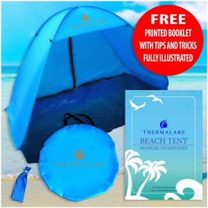 Thermalabs The Best Instant Pop up Sports Beach Tent: Fast and Automatic for Best Family Camping, Fishing, Hi