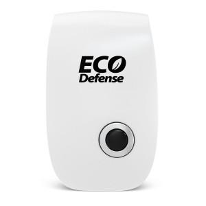 Eco Defense Ultrasonic Pest Repeller - Repels Mice, Rats, Roaches, Spiders, and Other Insects - Home Pest Control Solution