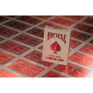 Bicycle MetalLuxe Playing Cards, Crimson