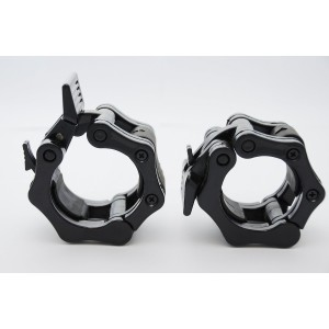 """Clout Fitness Quick Release Pair of Locking 2"""" Olympic Size Barbell Clamp Collar Great for Pro Crossfit Trainin"""