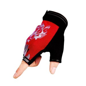 Freehawk Non-Slip Ultrathin Children Half Finger Bicycle Cycling Breathable Gloves Roller-skating Gloves for Fishing, Hunting, Racing, Cycling, Roller Skating and Climbing in Summer