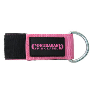 Contraband Pink Label 3037 2in Heavy Duty Nylon Ankle or Wrist Cuff