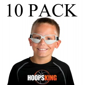 HoopsKing Basketball Dribble Goggles 10 Pack Plus Workout DVD