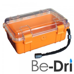 Be-Dri Be Dri Waterproof Storage Dry Box Container with Lanyard. Perfect for Boating, Fishing, Hunting, C