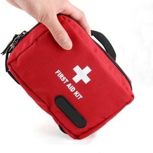 CAMTOA Small First Aid Empty Kit Bag Travel Camping Sport Medical Emergency Survival Outdoor First Responder Storage Bag