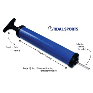 Tidal Sport Ball Pump with Needle for Basketball Soccer Football and Other Air Filled Sports Balls, Toys and A