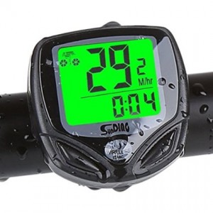 KUCHANG Cyclists Wireless Backlight Bicycle Computer Cycling Bike Odometer Speedometer Multi Function