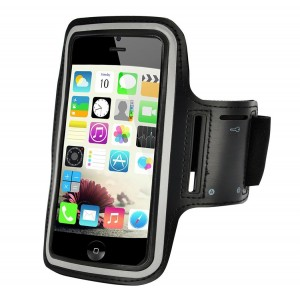 Mountaintop 5.5-Inch Water Resistant Sports Armband with Key Holder for iPhone 6 plus, 6S plus,Samsung HTC etc