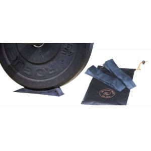 Ohio Fitness Garage Deloadaz Rubber Deadlift Barbell Jack Alternative For Efficiently Load and unload of Weight Liftin