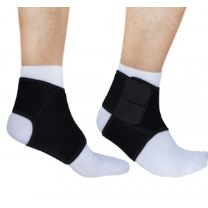 Unicorn Outdoor Ankle Support Neoprene (Sold in Pair) - Breathable Open Heel Design - Ankle Brace, Achilles Brace,