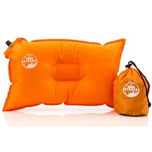 Travel Pillow From Kuda Outdoors - The Most Comfortable Inflatable Pillow, Ideal for Camping and T