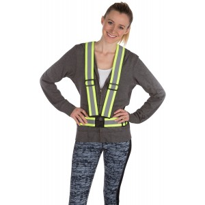 Harper Sportswear Reflective Safety Vest - Ideal for Running, Cycling, Walking and Work - High Visibility Safety Ves