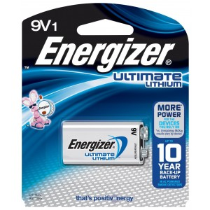 Energizer Ultimate Lithium 9V Battery (1 Count)