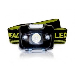 Leibnitz Best and Brightest Headlamp Flashlight with Red LED for Jogging, Camping, Reading, Biking, Caving, DIY and Emergency use. Weatherproof, Hands free Headlamp Flashlight. Lifetime warranty.