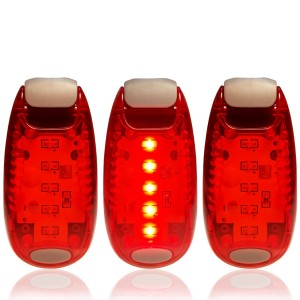 SIGEM LED Safety Lights + FREE Bonuses | Clip on Flashing Strobe Light High Visibility for Running Joggi