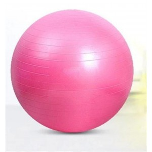 Sweet Dream Diameter 75cm Pink Exercise Pilates Balance Yoga Gym Fitness Ball with an Air Pump