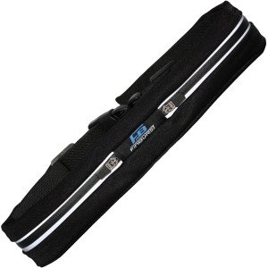 FinBurst Running Belt PRO - Super SALE - High-End Waist Pack for Increased Safety and Durability - Fits EVERY iPhone and Cell Phone