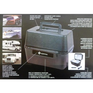 Superex 12 Volt Portable Stove Box - Cooks, Heats, or Warms From a 12 Volt Power Supply