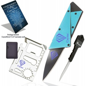 CsyncDirect(Tm) Deluxe Package Multitool Survival Emergency Accessory Include (3 Items) 11 in 1 St