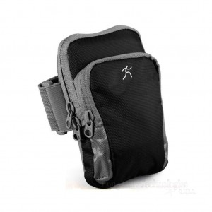 Long Run Technologies Sports Armband: Cell Phone Running Exercise SweatProof Water Resistant Arm Band Key Holder iPhone