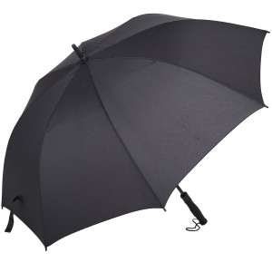 Woogwin Golf Umbrella 55-inch Large Windproof Auto Open Rain and Wind Resistant Umbrella(black/ Dark-blue)