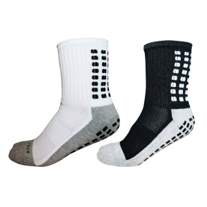Apex Grip Socks, Non Slip Sport Socks, Traction Technology Inside and Outside of Socks, No More Blister