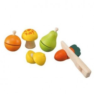 PlanToys Plan Toy Fruit and Vegetable Play Set
