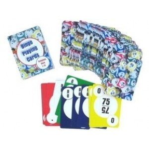 Gaming Supplies Professional Deck of Bingo Playing Cards