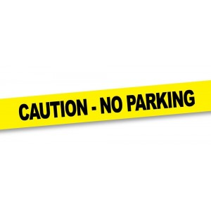 "Big Mouth Toys Crime Scene Tape ""No Parking"", 50 Foot Roll"