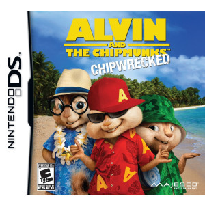 Majesco Alvin and the Chipmunks: Chipwrecked - Nintendo DS