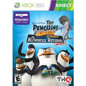THQ Kinect Penguins of Madagascar: Dr. Blowhole Returns Again! - Xbox 360