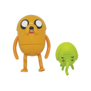 """Adventure Time Jake 3"""" Action Figure with Treetrunks Accessories"""
