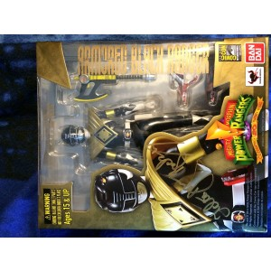 """Bandai Tamashii Nations SH Figuarts Armored Black Ranger SDCC Exclusive """"Mighty Morphin' Power Rangers"""" Action Figure"""