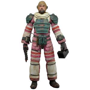 """NECA Aliens Series 4 Dallas 7"""" Action Figure (Nostromo Suit)"""