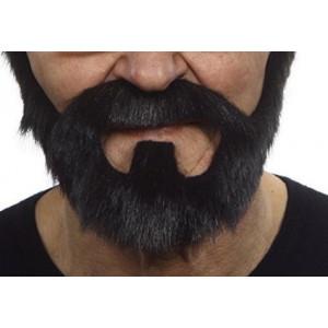 Mustaches On bail beard