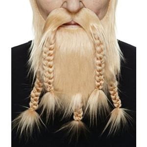 Mustaches Viking blond beard