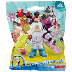 Fisher-Price Fisher Price Imaginext Series 4 Collectible Figures Mystery Pack (Color/Styles May Vary)